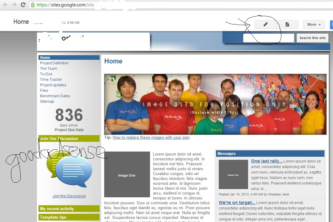 Tips to approve google adsense acc for How to change template on google sites