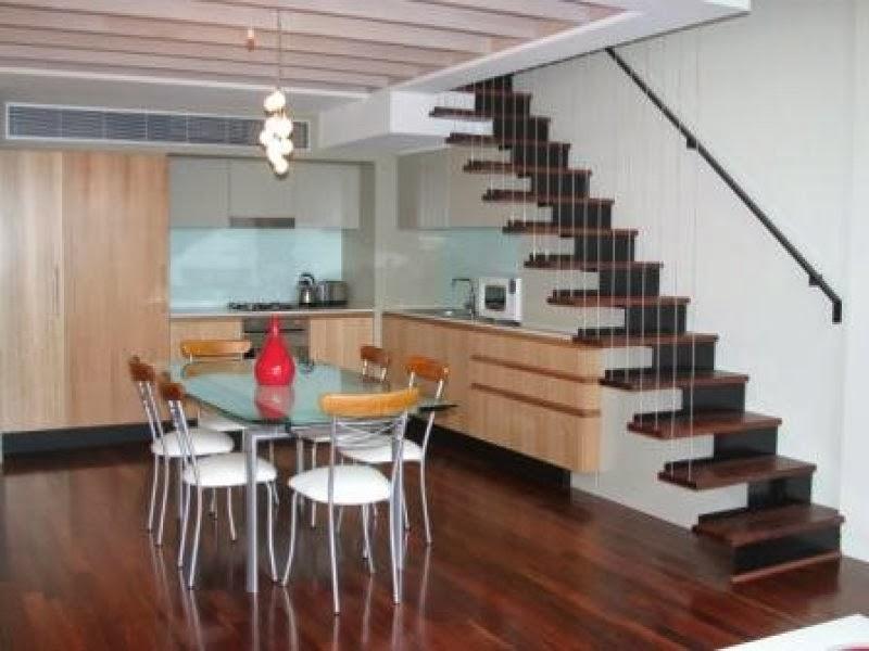 gambar tangga rumah desain sederhana