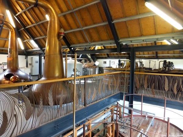écosse scotland île isle arran distillerie lochranza