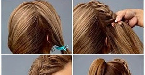 Easy Rose Hairstyle - Tutorial ~ Entertainment News, Photos & Videos - Calgary, Edmonton ...