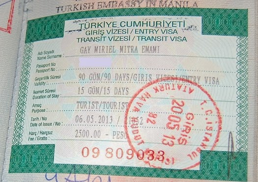 Newspedia: Visa Information of Turkey