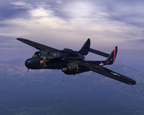 Sky fighter p 61 black widow