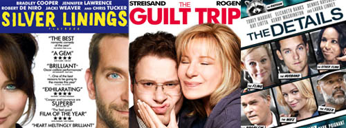 Silver Linings Playbook The Guilt Trip The Details DVD Blu-Ray