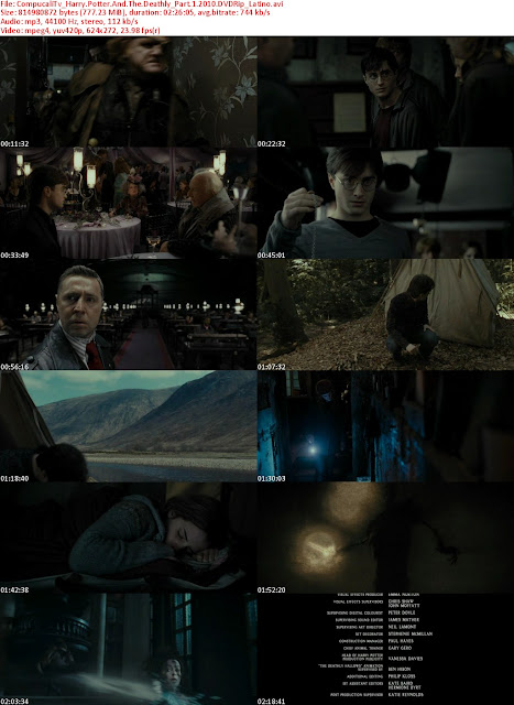 Capturas Harry Potter 7 Las Reliquias de La Muerte