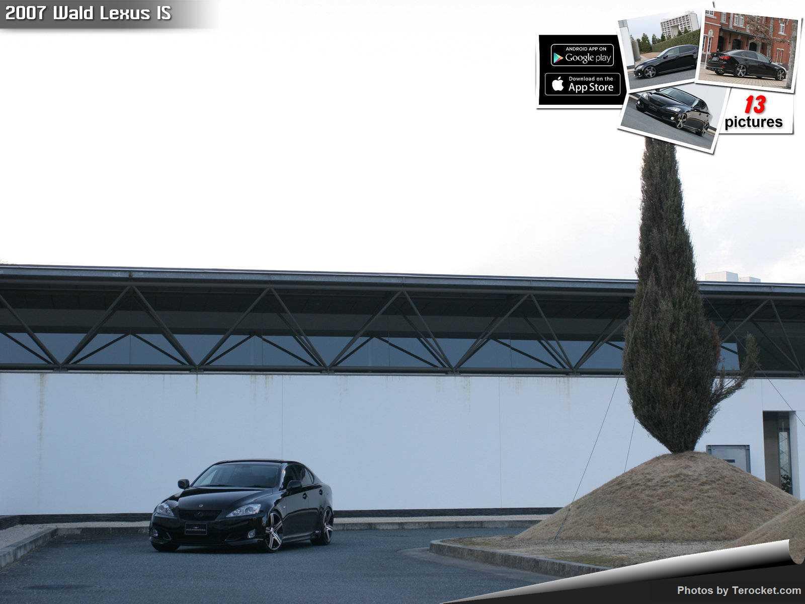 Hình ảnh xe độ Wald Lexus IS 2007 & nội ngoại thất