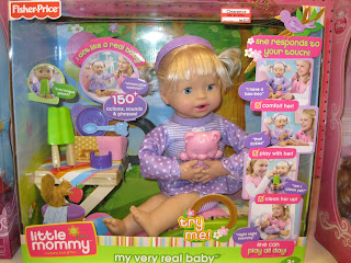 Fisher Price doll clearance