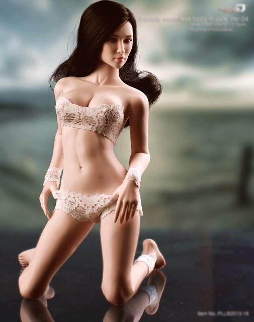 Realistyczna (z miękka skórą) lalka Phicen