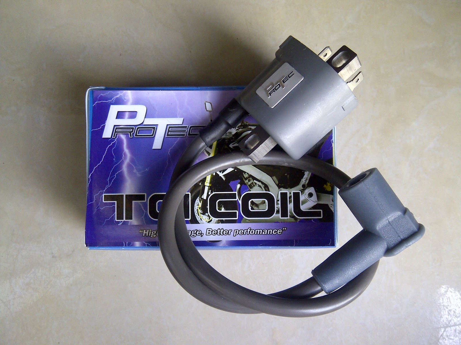 Protech racing igntion coil for Vixion title=
