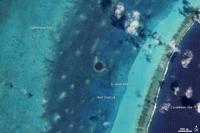 The Great Blue Hole Map