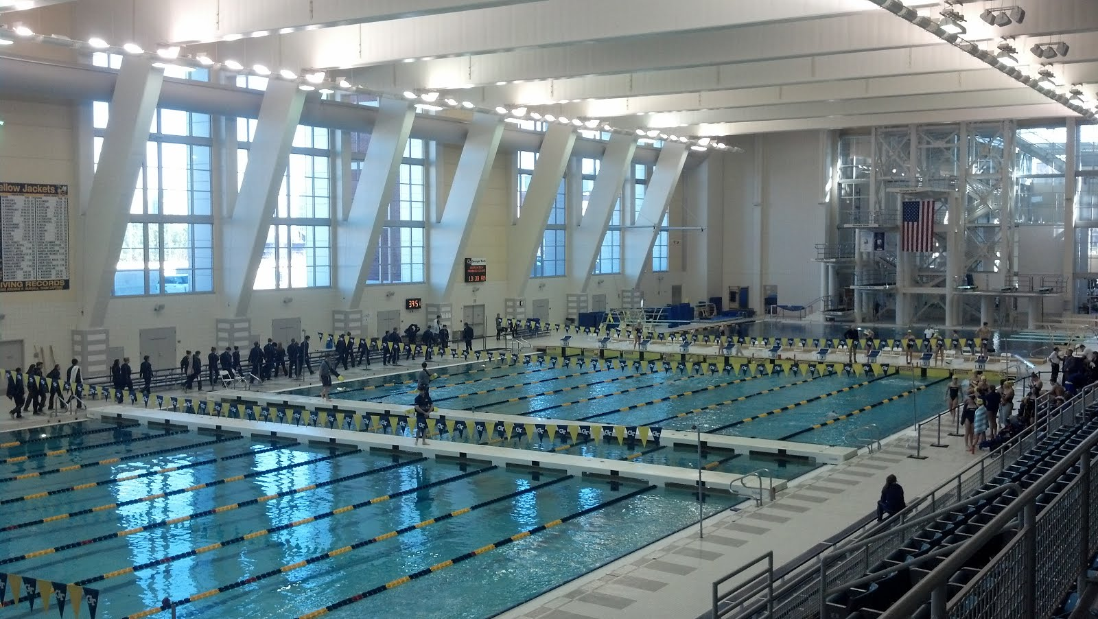 105 Georgia Tech Aquatic Center Atlanta Ga Scolin 39 S Sports Venues Visited