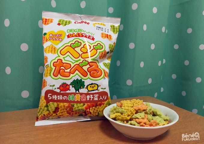 Vegi taberu, japanese snacks