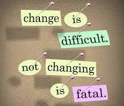"""""""改变""""的决定在于我们"""