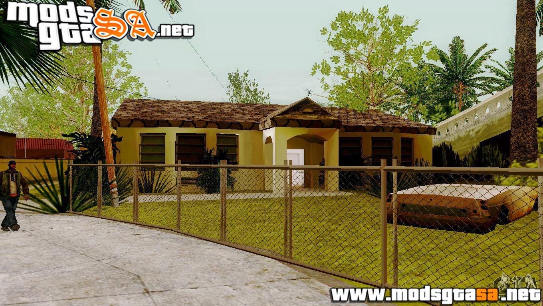 SA - Novas Texturas nas Casas da Grove Street