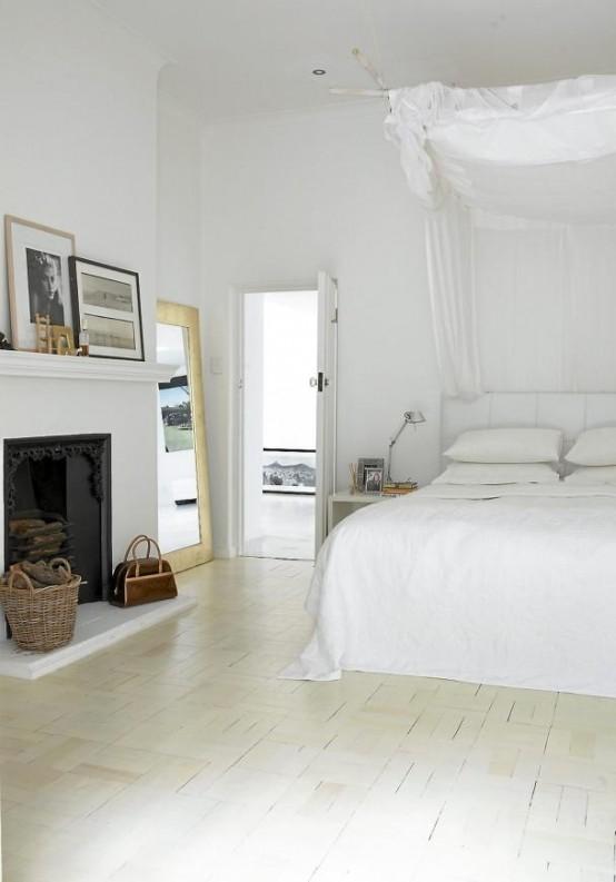 relaxing open plan white house 5 554x793 แบบบ้านสีขาวแสนน่าอยู่สไตล์โมเดิร์นจาก South Africa