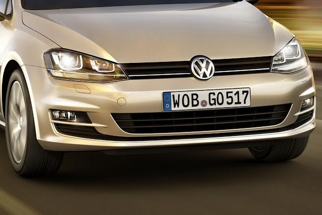 Novo Volkswagen Golf 2013 - frente