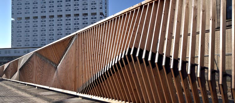 Steel Fence Construction : Gray fence erasmus mc