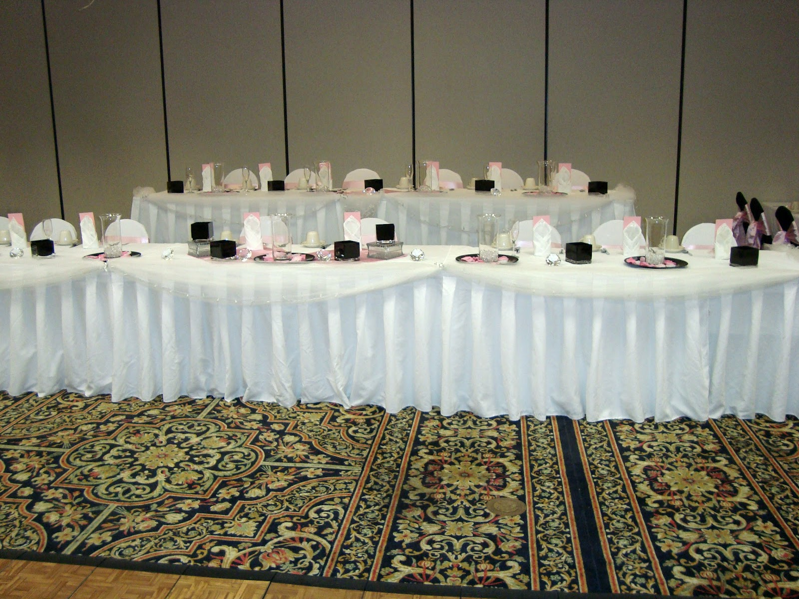 ... centerpiece at your head table or sweetheart table. If you have floral ...