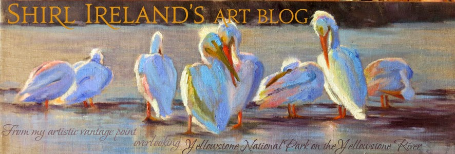 Shirl Ireland's Art Blog
