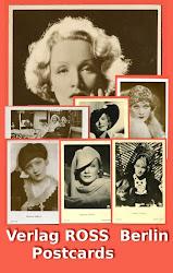 Marlene Dietrich Ross Verlag Postcards