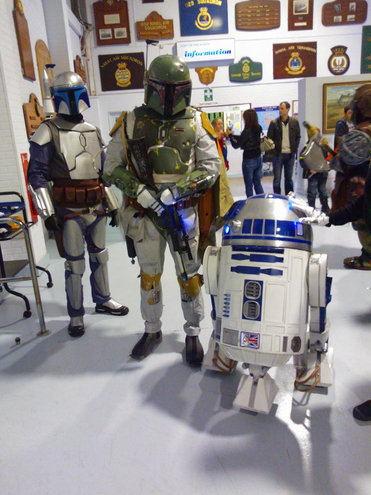 Jango Fett, Boba Fett & R2-D2