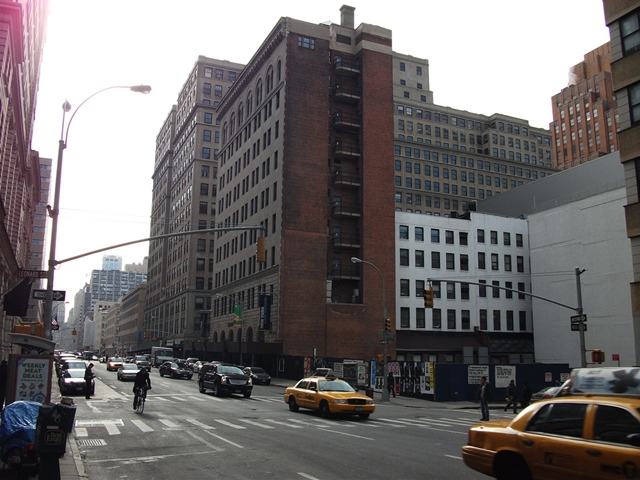 Photo of 56 Leonard Street Construction Site in Tribeca, New York