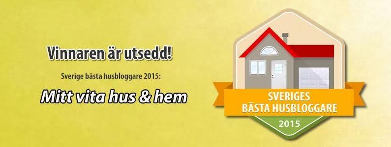 Sveriges Bästa Husbloggare 2015