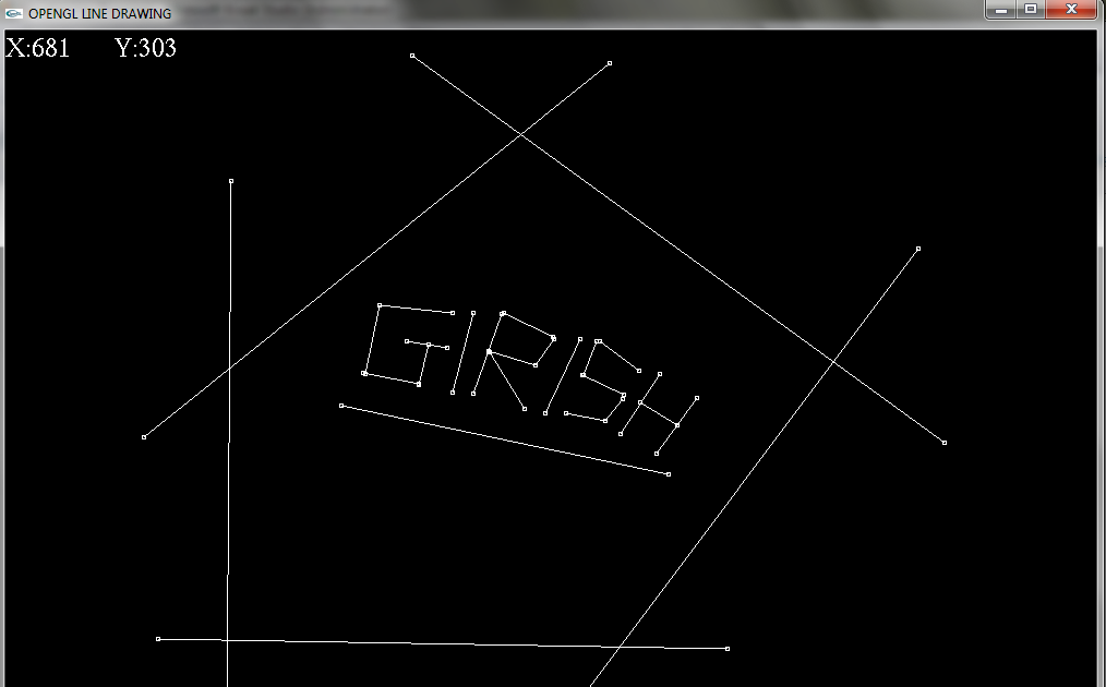 Drawing Lines With Opengl : Born to code interactive line drawing in opengl