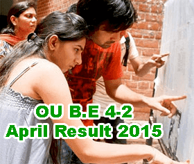 OU B.E 4-2 Sem Results 2015 Available Today 10 AM, OU BE 2nd Sem April 2015 Results, OU B.E 4-2 Apirl 2015 Results Check at osmania.ac.in, Manabadi OU B.E Results 2015, Osmania University BE Results 2015