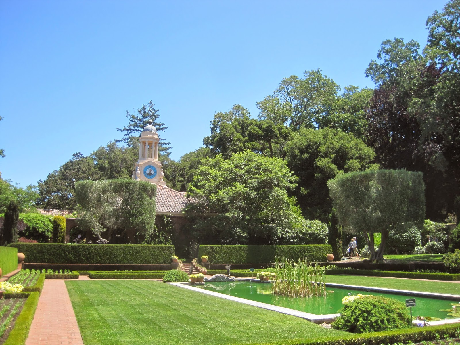 architect design gardens of filoli and some detective work