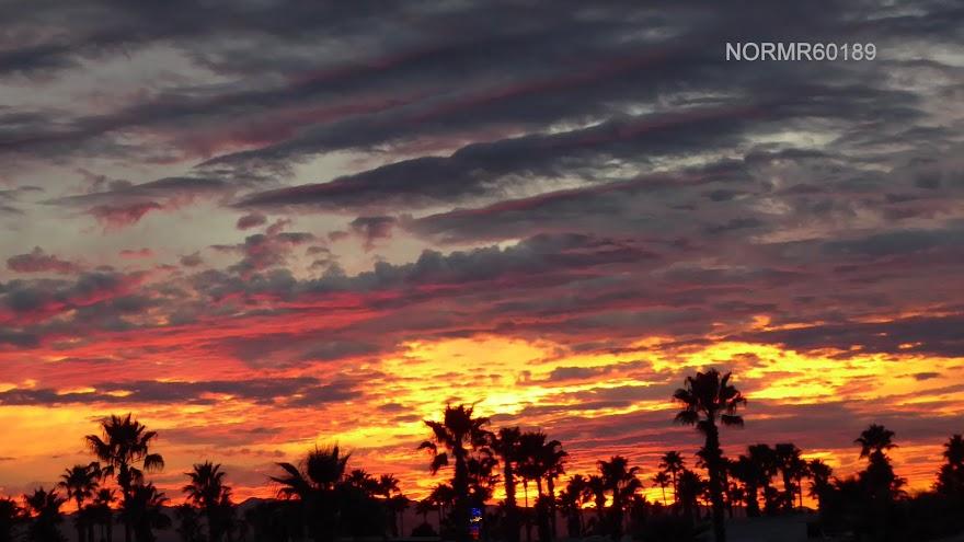 Sunset, January 9