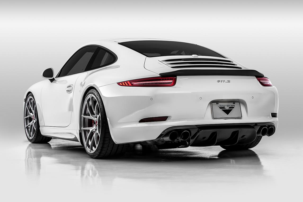 Porsche 911 991 Gets Aero Kit From Vorsteiner Car