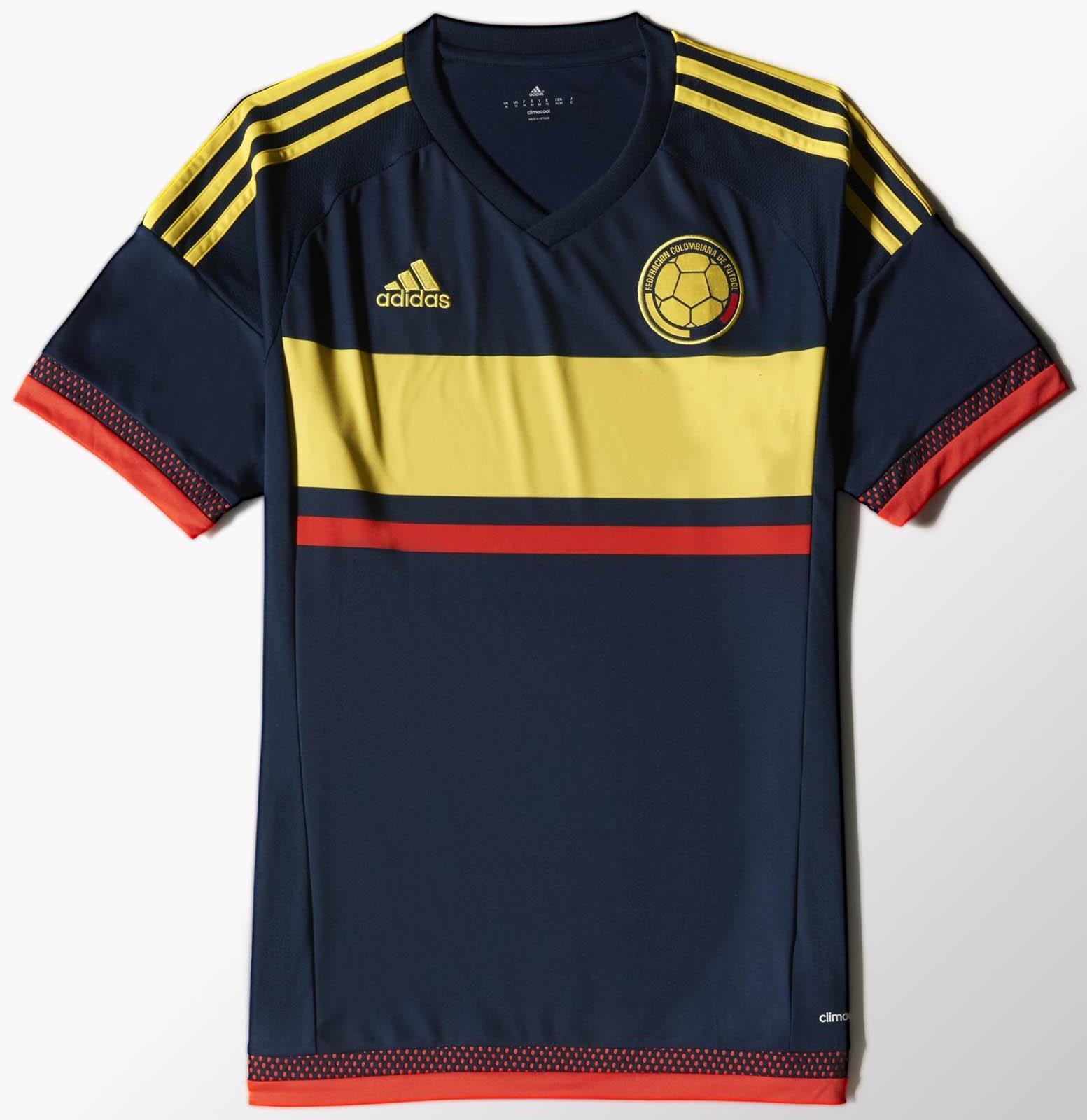 Camiseta Adidas Seleccion Colombia 2015 Adidas Colombia 2015 Away