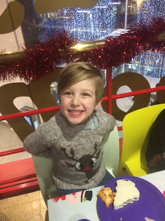 Boy's Rudolph Reindeer Jumper