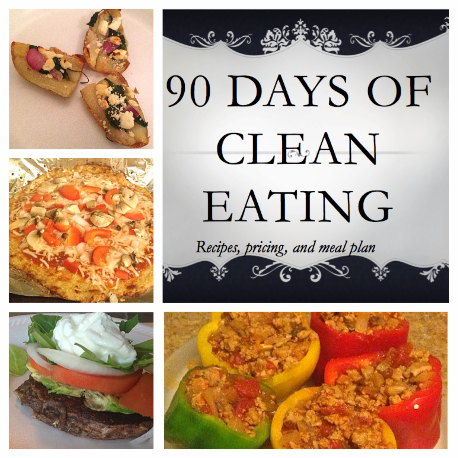 Clean Eating Meal Plan For Weight Loss 90 day clean eating meal plans