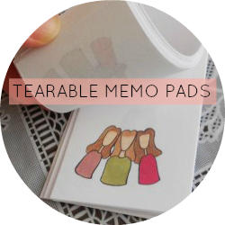 Tearable Memo Pads
