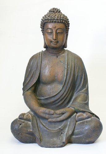 Resin buddha garden statue garden buddha statues for Outdoor buddha