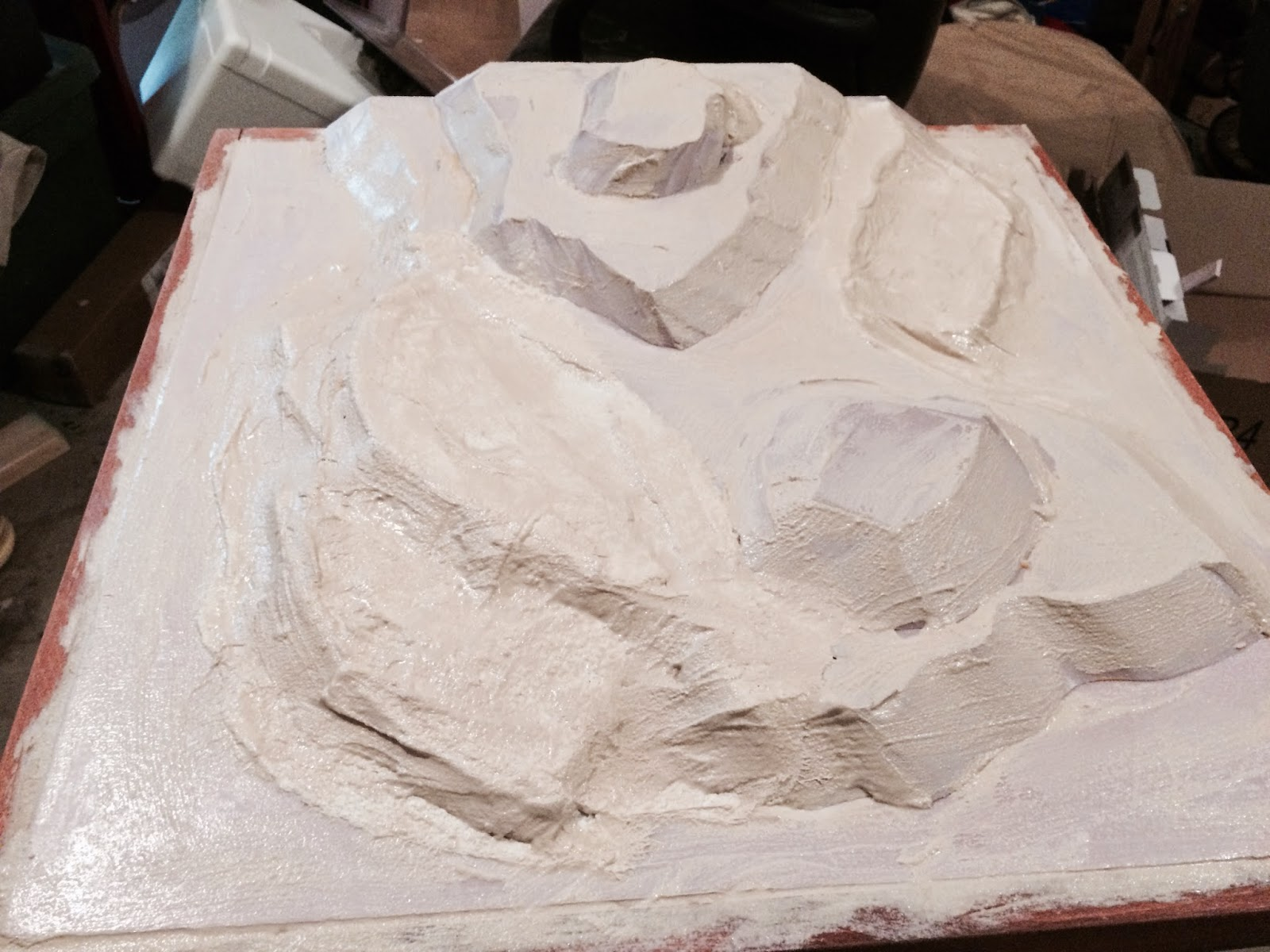 Lair of the uber geek: sectional terrain: mountains of foam