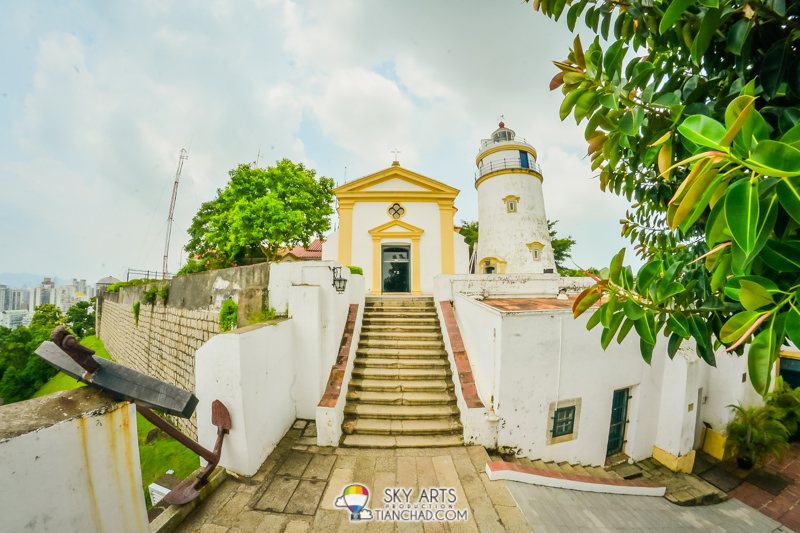 #TCFisheye view of Guia Chapel
