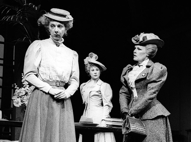 Anna Massey, Zoë Wanamaker and Judi Dench