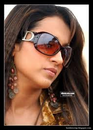 trisha with sun glasses