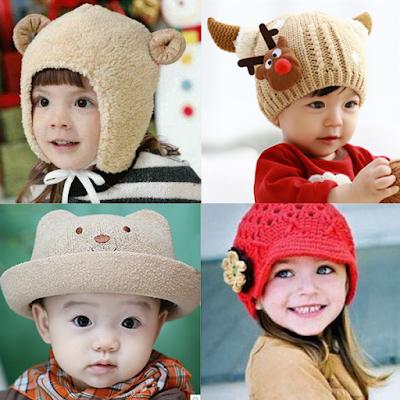 Topi lucu untuk anak