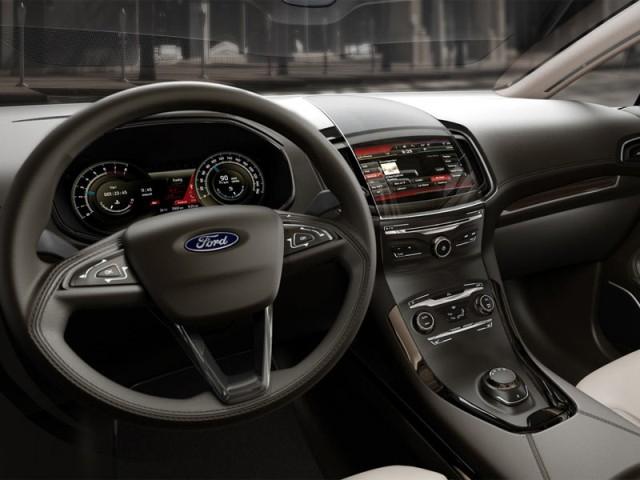 2014 Ford S Max Interior
