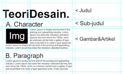 Menggunakan layout atau hierarchy dengan benar