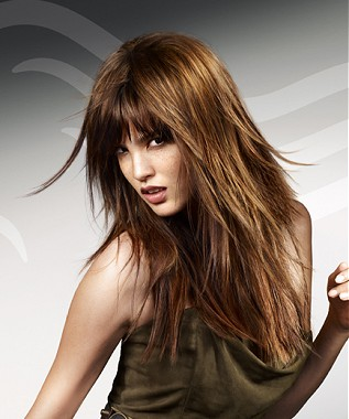 Long Choppy Hairstyles Are Gaining Popularity Long Hair Are