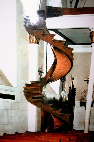 Superior Scale Model Simulation Of How The Staircase Looked Between 1877 1887 Before  The Banisters Were Added