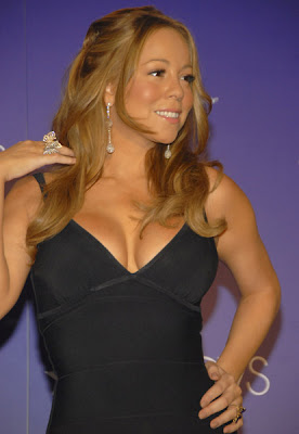 Mariah Carey Actress and Singer Posing
