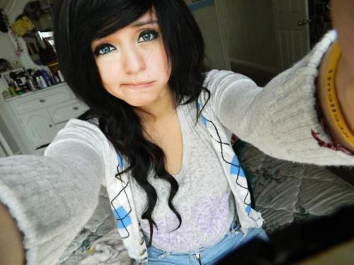 Pretty Girl With Black Hair Tumblr Mas se voc quiser ir,