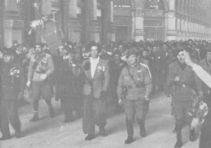 MILANO 30 MARZO 1944  GALLERIA VITTORIO EMANUELE