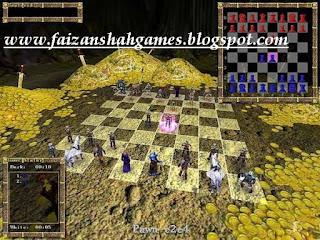 3d war chess portable
