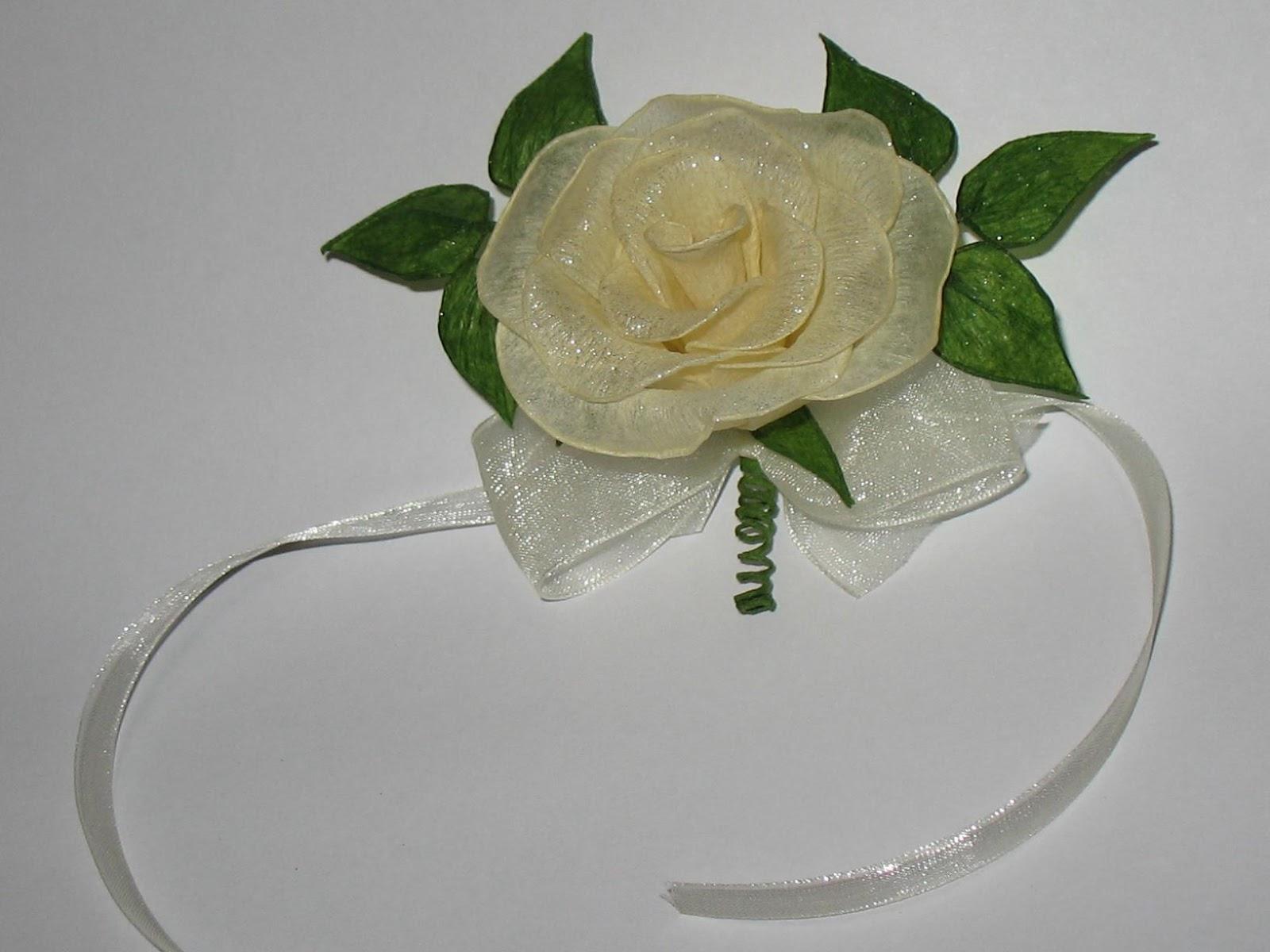 Kwiaty Z Bibuły Rękodzieło Bibułkowe Szaleństwo I Nie Tylko